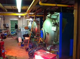 descaling boilers at Northampton
